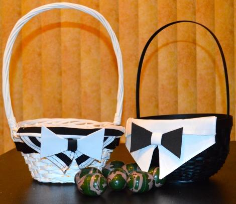 Tuxedo Easter Basket
