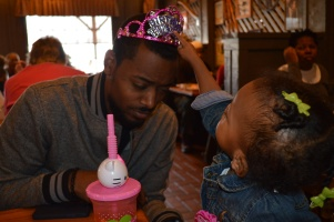 Here Daddy, You be the Birthday Princess