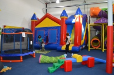 Big Slide Bounce House