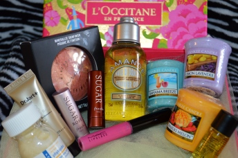 Spring Renewal Posh Box Items