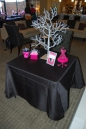Welcome table and wishing tree!