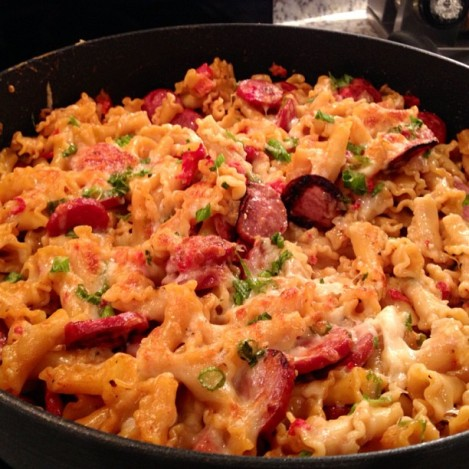 Spicy Turkey Sausage Pasta
