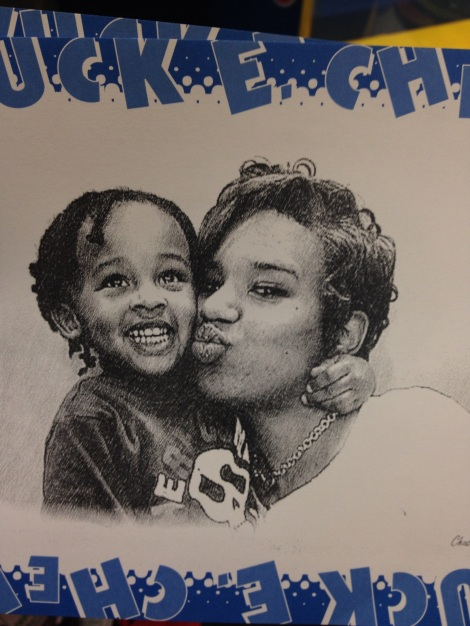 Janelle Chuck E Cheese