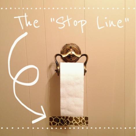 stop line